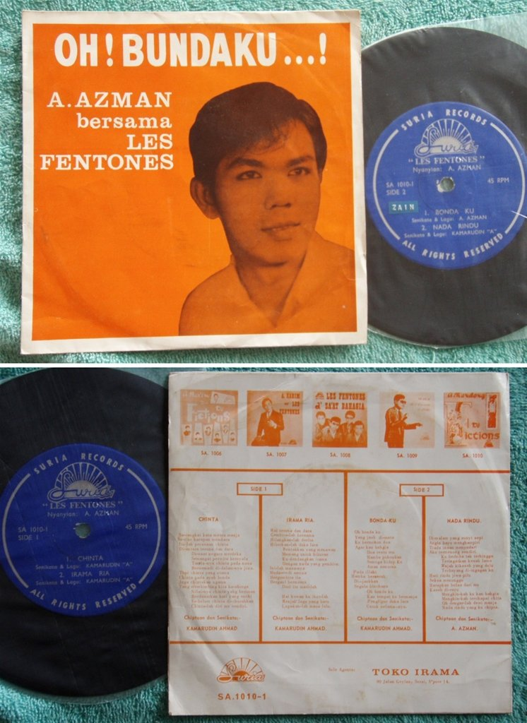 Spore Azman & LES FENTONES Malay Garage Pop Beat EP #1010(682)