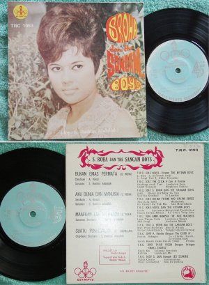 Malaysia S.Roha & The SANGAM BOYS Malay garage pop EP #1053(678)