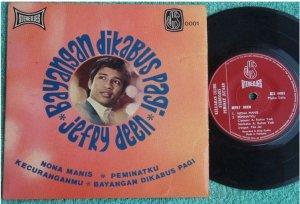 JEFRYDEEN & THE JES Malay Jazzy Freak pop EP 0001 (201)