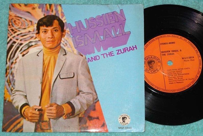 Hussien Ismail & THE ZURAH Malay Garage pop EP 5016 (197)