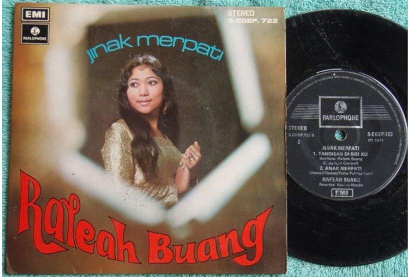 RAFEAH BUANG Jinak Merpati Malay pop EP 722 (196)