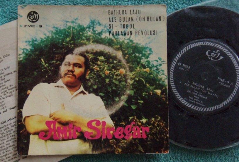 60s Indonesia AMIR SIREGAR Malay pop Life Sealed EP 7me9 (180)
