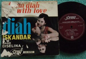 Indonesia DIAH ISKANDAR & DISELINA Malay pop vol.2 EP 1215 (178)