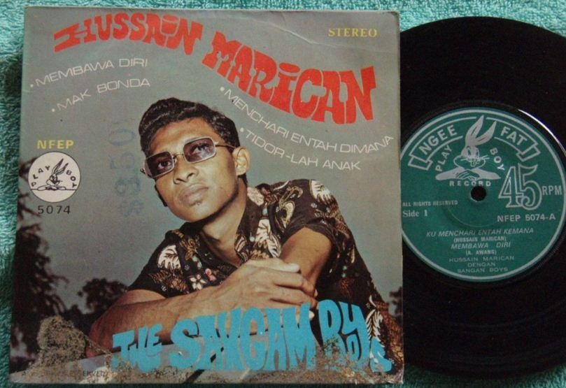 Hussien & The SANGAM BOYS Malay hindi tune pop EP 5074 (173)