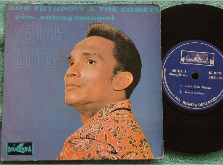 Bob & THE COMETS Indonesia Malay pop beat EP 1002 (149)
