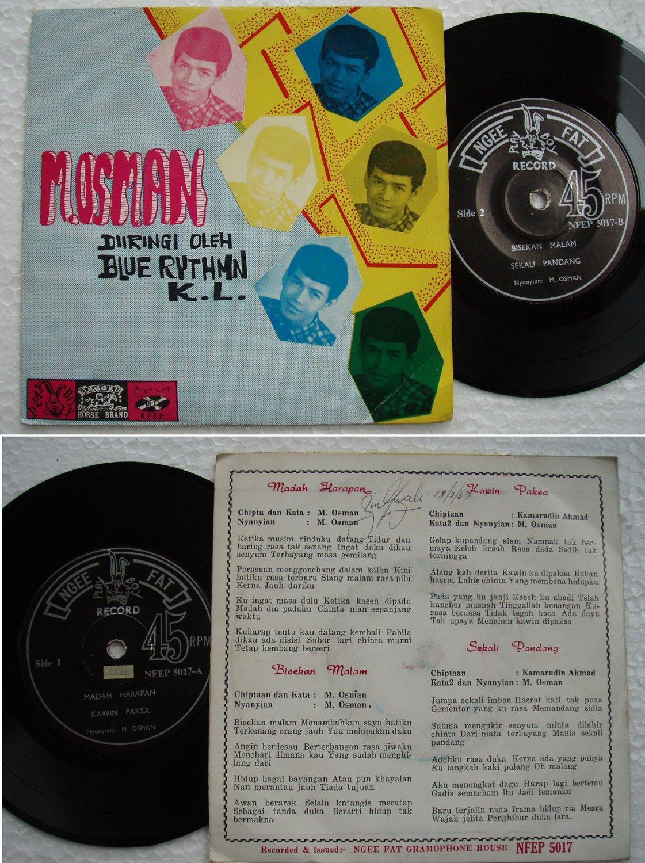M.Osman & BLUE RYTHMN Malay garage beat EP 5017 (127)