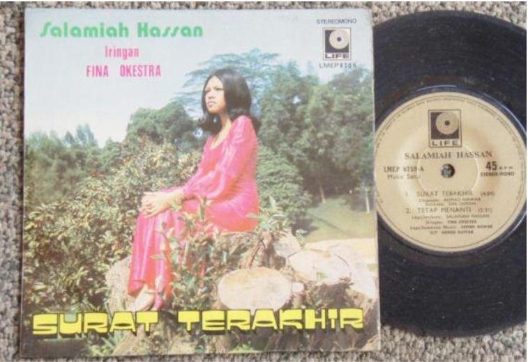 Malaysia Salamiah Hassan & FINA OKESTRA Malay pop EP #8759 (5)