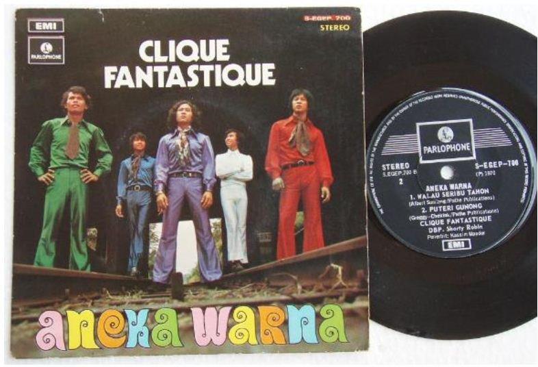 Singapore Malay CLIQUE FANTASTIQUE Jazzy pop aneka 700 (349)