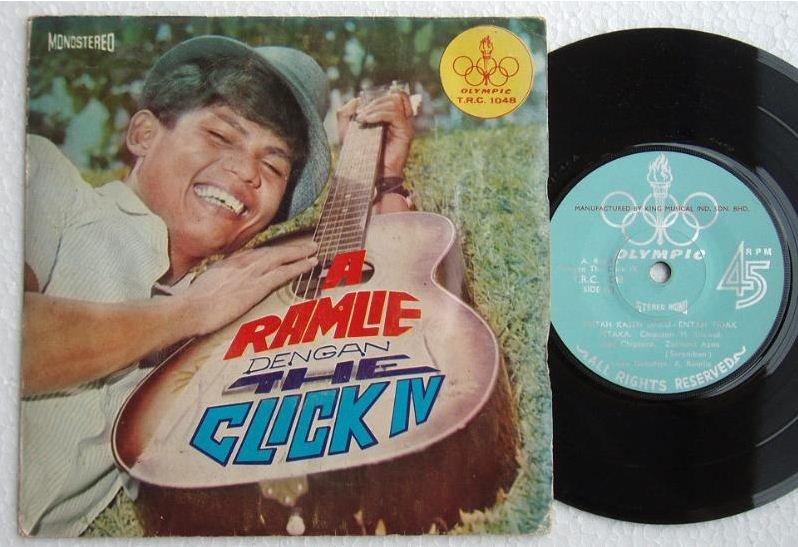 60s A.RAMLIE & The CLICK IV Malay freakbeat pop EP 1048 (467)