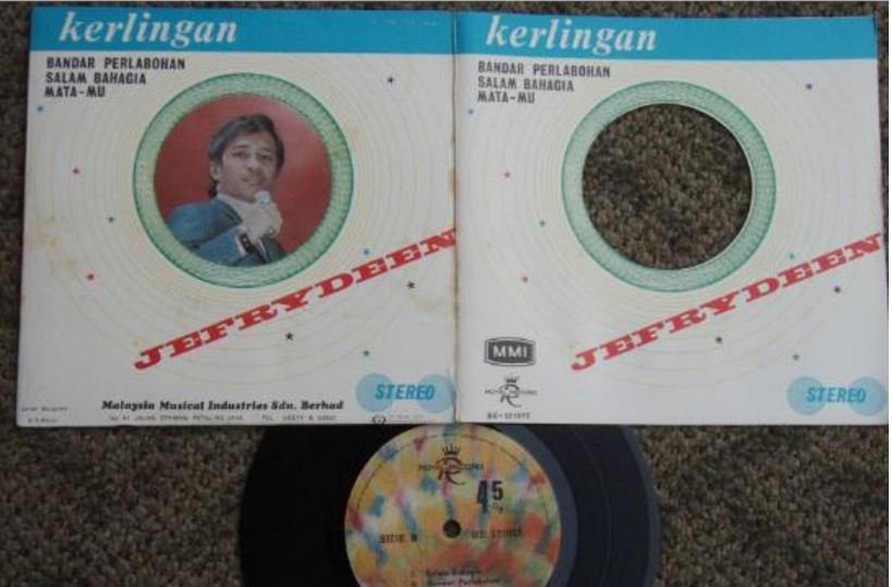 SOLD-JEFRYDEEN Malaysia Malay freak funky pop EP 121015 (434)