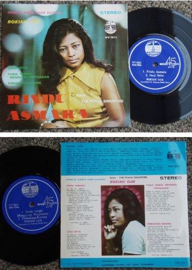 ROKIAH and The PEAKS SINGAPORE Malay pop EP NY1011 (567)
