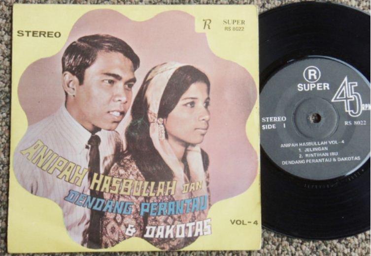Anipah Hasbullah & Dakotas Malaysia Malay EP #8022 (438)