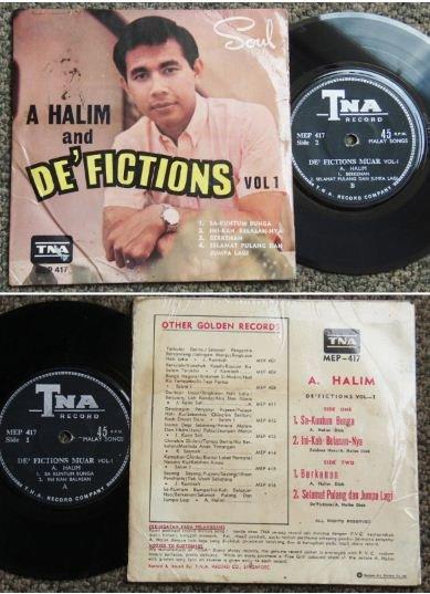 HALIM and De'FICTIONS Malay freakbeat soul EP hear #MEP417 (323)