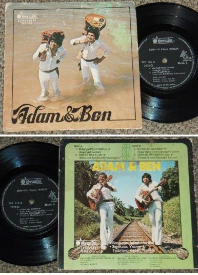 Malaysia ADAM and BEN Malay pop beat EP #SEP114 (330)