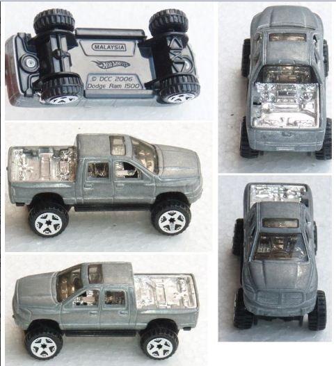 Hotwheels Dodge Ram 1500 prototype truck (1)
