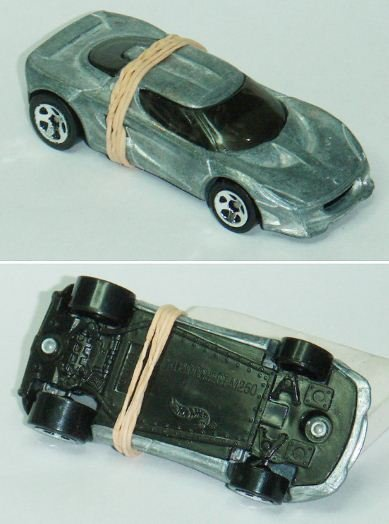 Hotwheels prototype zamac unspun Lotus Project M250 (6)