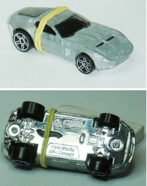 Hotwheels prototype zamac unspun Ford Shelby GR-1 Concept (10)