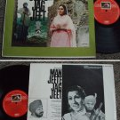 India Bollywood MAN JEETE JAG JEET HMV LP #7001 (173)