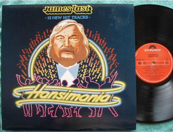 JAMES LAST Hansimania Malaysia 12in LP #2372113(255)