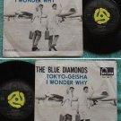The BLUE DIAMONDS Tokyo Geisha Holland fontana SP #266461(720)