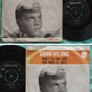 BRIAN HYLAND Here's To Our Love/Two Kinds Of Girls SP #304038(713)