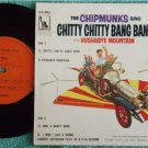 THE CHIPMUNKS Sing Chitty Bang Singapore EP #45011(698)