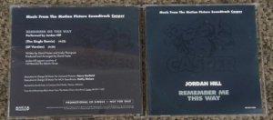 """JORDAN HILL """"Remember Me This Way """"Casper""""promo CD 3386 (7)"""