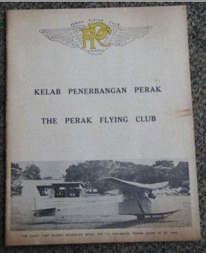 1966 Malaya Perak Flying Club Captain's report booklet R2