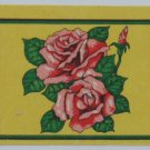 4 Matchbox label-Asian Umbrella, Roses, Pipe,Chain #MA5-S7
