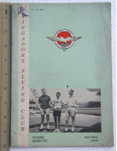 1969 Singapore Flying Club booklet R2