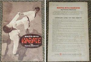 1971 USA Shito Ryu KARATE by Fumio Demura book #R2