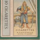 old Malaya empty Cigarettes Pack PIRATE-S7
