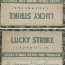 very old cigarettes pack-LUCKY STRIKE (S7)