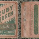very old cigarettes pack-RUBY QUEEN (S7)