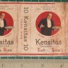 very old cigarettes pack-OLD MAN KENSITAS #14-S1