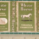 very old cigarettes pack-WHITE HORSE #12-S1