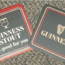 Malaysia GUINNESS STOUT is good for you 2 Coasters #C1-S6