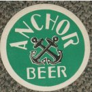 very old Anchor Beer Malaya Coaster #L-S