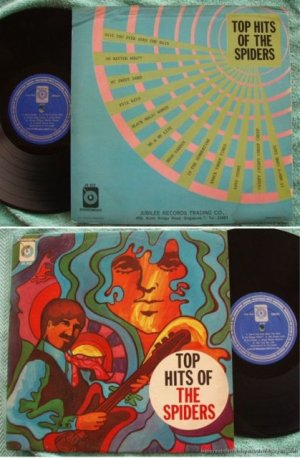 Singapore THE SPIDER Guitar instro Pop Beat LP #JR302 (213)