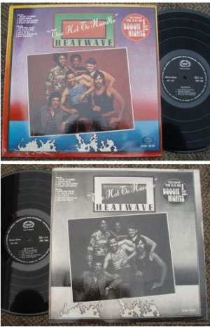 HEATWAVE Too Hot To Handle Malaysia LP #1049 (193)