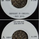 BON JOVI Midnight in Chelsea Malaysia jukebox promo E298 (532)