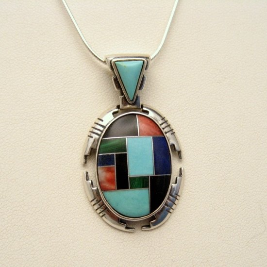 Carolyn POLLACK Silver Necklace Rare Sincerely Southwest QVC