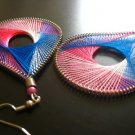 T.H.R.E.A.D Collection FUSCHIA Earrings