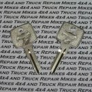 2 NOS Dodge Viper Secondary Key Blank Blanks keys 1994 to 2004