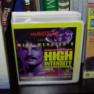 MIKE MENTZERS NEW ADVANCED HIGH INTENSITY TRAINING BODY BUILDING VERY RARE LIKE NEW CASSETTES BOOK
