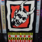 VHS VIDEO ROLLING STONES LIVE VOODOO LOUNGE OFFICIAL SOUVENIR VIDEO USED IN VERY GOOD CONDTION (B20)