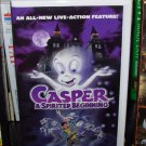 VHS VIDEO CASPER A SPIRITED BEGINNING GENTLY USED ONE OWNER NOT A RENTAL IN ORIGINAL CLAMSHELL (B20)