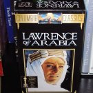 VHS VIDEO BOXED SET LAWRENCE OF ARABIA STARRING PETER O'TOOLE GENTLY USED MOVIE