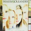 WHITE OLEANDER VHS VIDEO MOVIE STARRING MICHELLE PFEIFFER RENEE ZELLWEGER (B42)