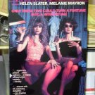 STICKY FINGERS VHS VIDEO MOVIE STARRING HELEN SLATER MELANIE MAYRON (B43)